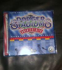 Dodger Stadium's Greatest Hits [CD, 2001] 40th Anniversary 1962-2002 Vin Skully