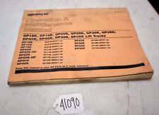 Cat Operation and Maintenance Manual gp15k gp18k dp20k dp25k (Inv.41090)