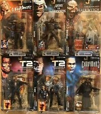 Movie Maniacs 4 McFarlane Freddy Terminator Evil Ash Candyman Blair Witch T-1000