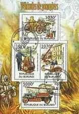 Timbres Pompiers Burundi 1485/8 o année 2012 lot 20702 - cote : 18 €