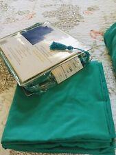 Supreme Sheet Set 1800 Series Teal Deep Pocket King/Cal King Size 6-Pc Pre-Owned