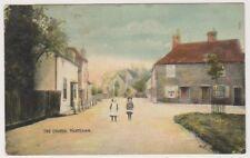 More details for berkshire postcard - the church, thatcham - p/u 1909 (a110)