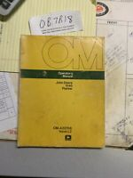John Deere 1240 Planter OMA22708 Operators Manual