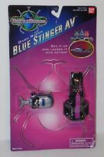 NEW SEALED Saban's Bandai Big Bad Beetleborg Blue Stinger Av Dash Racer on Card