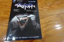 Batman New 52 Vol 3 Death of the Family Snyder Capullo DC Graphic Novel TPB