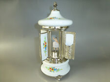 Vintage Reuge Dancing Ballerina Automaton Carousel Music Box Items Holding Stand