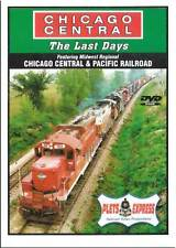 Chicago Central & Pacific The Last Days DVD NEW CC&P Geeps SW13 Plets GP7 GP10