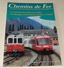 CHEMINS de FER N° 443 de 1997 : ROTONDES des dépôts SNCF - Automotrices Z 800