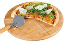 Kesper FSC pizza plato 32cm Pizza-schneider para cortador de cocina