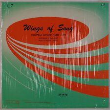 GETTYSBURG COLLEGE CHOIR: Wings of Song '72 Private Parker Wagnild SHRINK LP