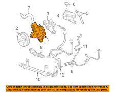 Cadillac GM OEM 05-10 STS-Power Steering Pump 25900772