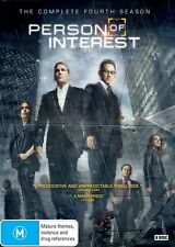 Person Of Interest : Season 4 (DVD, 2015, 6-Disc Set)