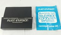 Rowtron/Teleng Television Computer System ~ Cartridge No.22~Alien Invasion