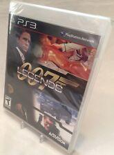 PLAYSTATION 3 007 LEGENDS BRAND NEW JAMES BOND VIDEO GAME