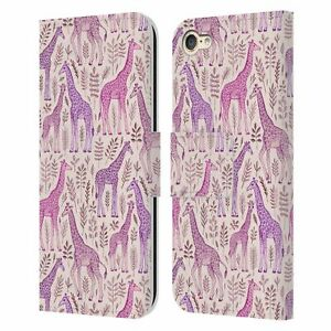 MICKLYN LE FEUVRE WILDLIFE LEATHER BOOK WALLET CASE FOR APPLE iPOD TOUCH MP3