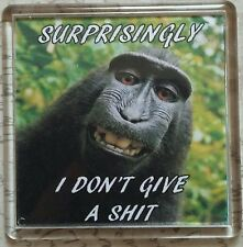 FRIDGE MAGNET Quotes Saying Gift Present Novelty Funny I DON'T GIVE A S**T