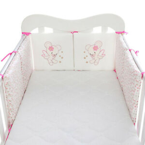Baby Bedding Crib Bumper Set Infant Safety Bed Cot Protector Bumper Pad Cushion