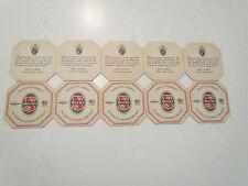 Vintage Becks Beer Coasters - One Set of 10