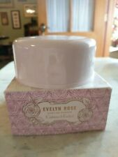 CRABTREE & EVELYN EVELYN ROSE SEALED DUSTING POWDER W/PUFF 3.5 OZ NEW IN BOX