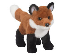 "Douglas BUSHY RED FOX Plush Toy 10"" Stuffed Animal NWT"