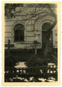 Orig. Foto Grab 16.PD Panzer Pionier in Friedhof NOWOMOSKOWSK Ukraine 1941