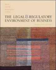 The Legal and Regulatory Environment of Business  Hardcover Used - Good