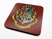 Harry Potter Untersetzer 6er Set Hogwarts Wappen - 10x10 cm - Kork - NEU & OVP