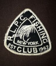 Rare Vintage Polo By Ralph Lauren Fishing RLPC Patch   NY