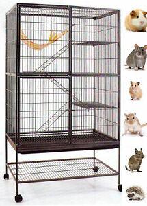 Double Unit X-Large Cage Chinchilla SugarGlider Rat Mice Squirrel Rabbit Ferret