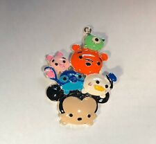 "DISNEY TSUM TSUM Inspired 2.5"" Enamel Charm Pendant For Favors Necklace & Crafts"
