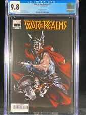 War of the Realms #1 CGC 9.8 2019 Dell'Otto Variant Cover Thor A260
