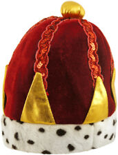 Child Crown Hat - Costume Accessory Fancy Dress Up World Book Day King Queen