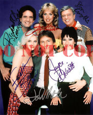 THREES COMPANY CAST Signed 8x10 Autographed Photo REPRINT