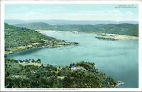 1910 Lake George NY Rogers Rock Heights Detroit Photographic 11755 Postcard FD
