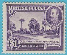 BRITISH GUIANA 222 NO FAULTS  MINT HINGED OG EXTRA FINE