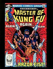 Master of Kung Fu #105 FVF 1st New Razor Fist Leiko Wu Black Jack Tarr Shang-Chi