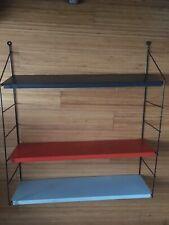 STRING SHELVING design TOMADO metal  shelves 50s /70svintage,midcentury