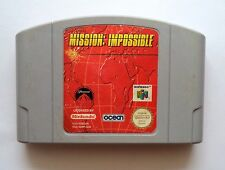 Mission: Impossible (Nintendo 64, N64, 1998) NUS-MNIP-SCN. Tested