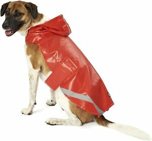 Petrageous Size Large Red Waterproof Raincoat NWT Dogs Pets Large Breed