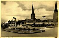 New Broadgate Coventry antique printed postcard Social History