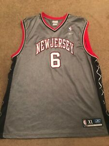NBA Authentics Kenyon Martin 2000s New Jersey Nets Reebok XL Team Appeal