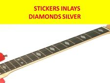 STICKERS INLAY DIAMOND SILVER FRET MARKERS VISIT OUR STORE WITH MANY MORE MODELS