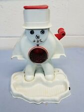 Vintage Hasbro Toy Frosty Snow Man Sno-Cone Maker Ice Machine  Snow Cone