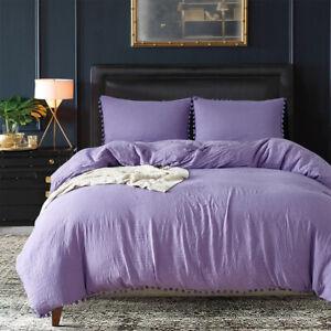 3 PCS Duvet Cover Pillow Case Bedding Set for Twin Queen King Bedding Article