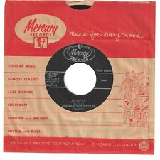 BEVERLY SISTERS 45  Oh Ricky / Only Me - NM