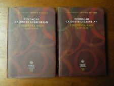 2007 Set 2 Portuguese Books - Fundacao Calouste Gulbenkian - Portugal Foundation