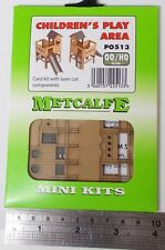 Metcalfe PO513 Mini Kit - Children's Play Area, Card Kit (00/H0) - New.