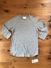 G-Star X Marc Newson - Ultimate Jersey Grey Heather 3/4 Sleeve T-shirt - M