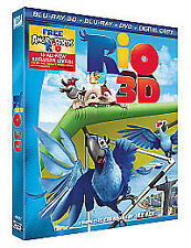 Rio (Blu-ray 3D + Blu-ray + DVD ) Brand new and sealed
