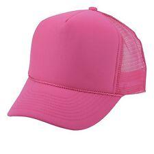 PLAIN TWO TONE SUMMER FOAM MESH TRUCKER SNAPBACK HAT HATS CAP CAPS